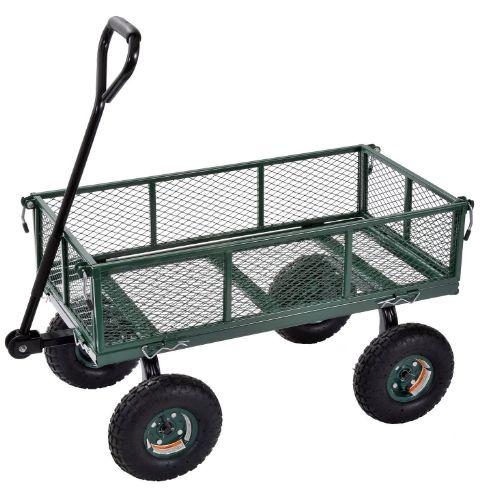 steel utility garden wagon 2-4