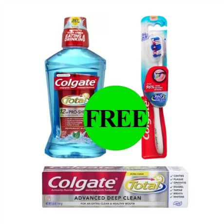 Get Colgate Mouthwash, Toothpaste or Toothbrush for FREE at Walgreens! ~ Ad Starts Today!