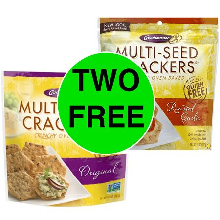 Publix Deal: (2) FREE + $.51 Money Maker On Crunchmaster Crackers (After Ibotta)! (Ends 2/23)