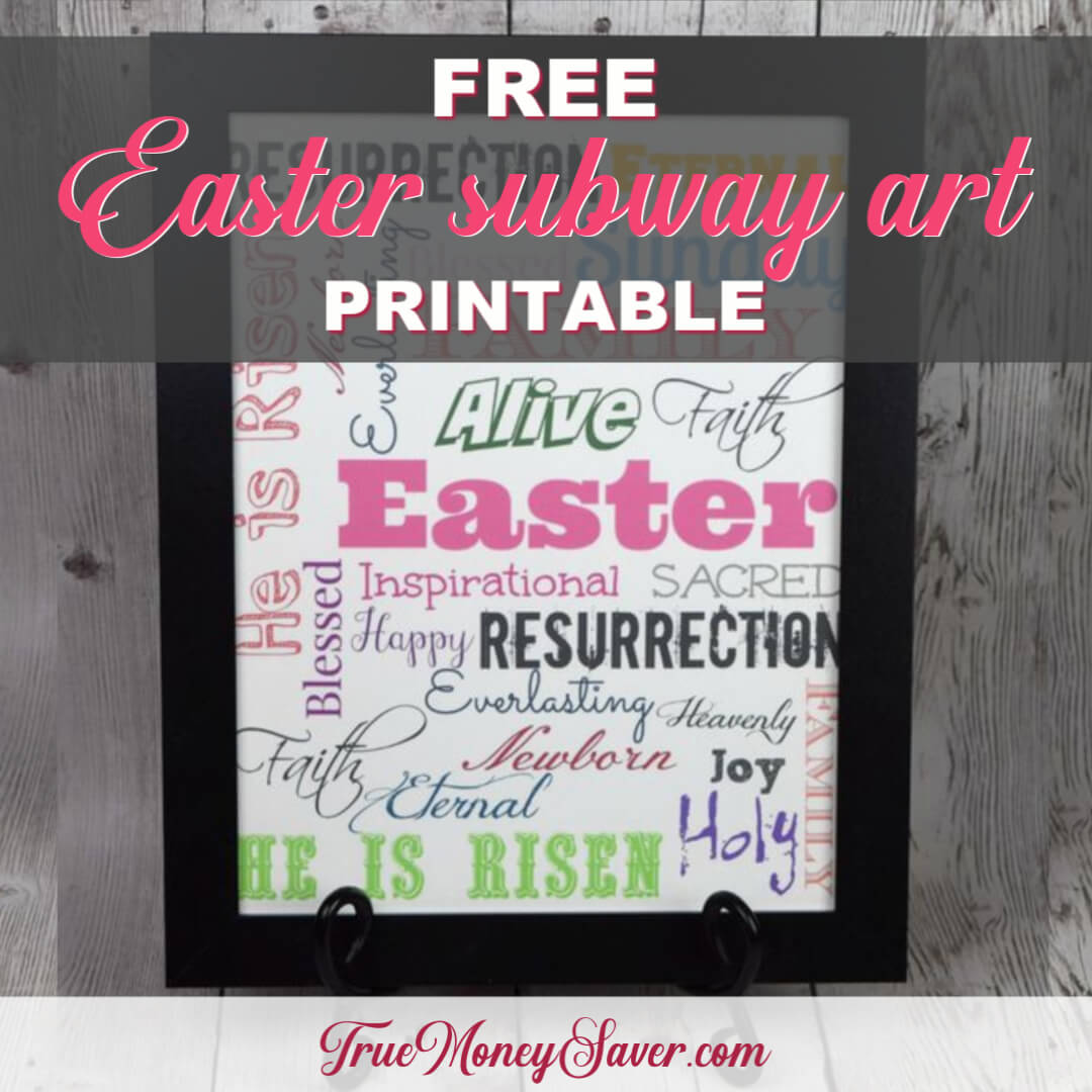 The Best Free Easter Subway Art Printable – Download Today!