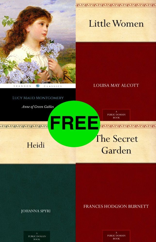 FREE Classic eBook Roundup!