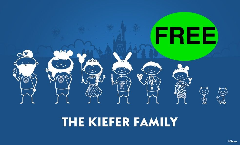 FREE Disney Family Decal! Hurry, This One Won't Last Long!