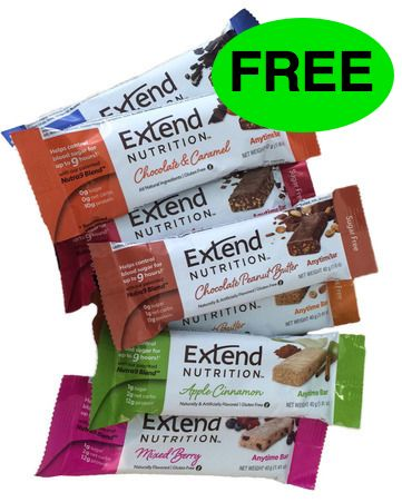 Did You Get Your FREE Extend Nutrition Snack Bar?