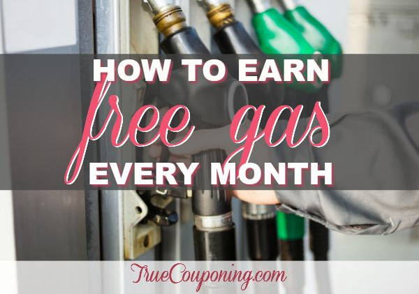 Traveling for the Holidays? Make Sure to Get Your FREE $20 Tank of Gas Every Month!