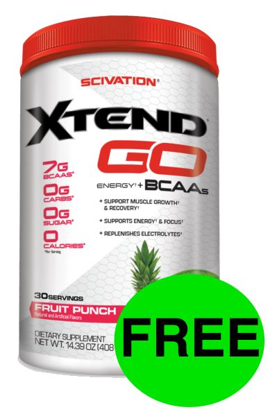 Try Xtend PreWorkout Supplement for FREE!