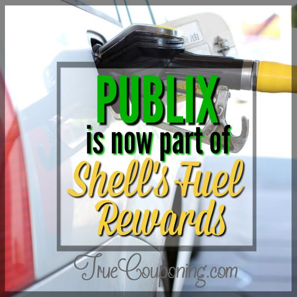 It's Back!! Now Through 6/4, Earn FREE Gas at Shell By Shopping At Publix! {15¢ Off Each Gallon!}