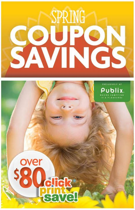 Publix spring coupon booklet