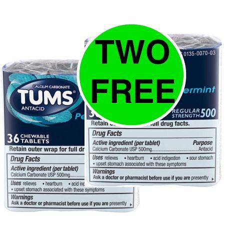 Publix Deal: (2) FREE Tums Rolls! (Ends 11/29)