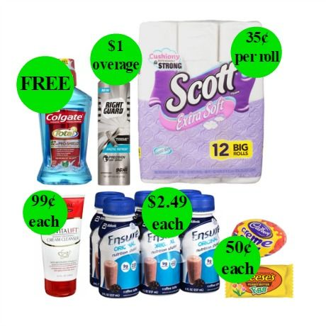 RIGHT NOW Get TWO (2!) FREEbies & SEVEN (7!) Deals 99¢ Or Less at Walgreens! ~ Ends Saturday