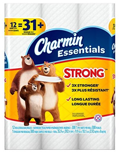 Stock Up with Charmin Essential and Have It Delivered to Your Door