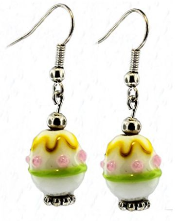Easter Egg Drop Earrings