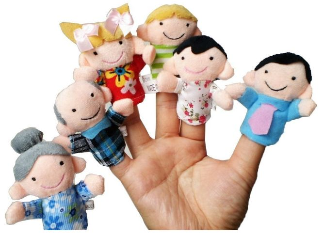How Fun is This Adorable Set of Finger Puppets?!