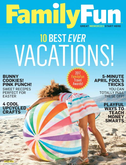 FREE Annual Subscription to Family Fun Magazine {$27 Value}!