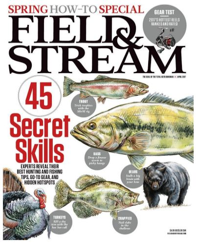 FREE Annual Subscription to Field & Stream Magazine {$35 Value}!