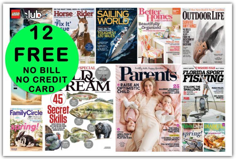 FREE Field & Stream Annual Magazine Subscription {Plus ELEVEN (11!) Other FREE Magazine Subscriptions too!}