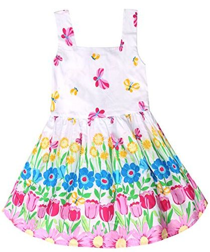 Girls' Sleeveless Sundress…Perfect for Easter