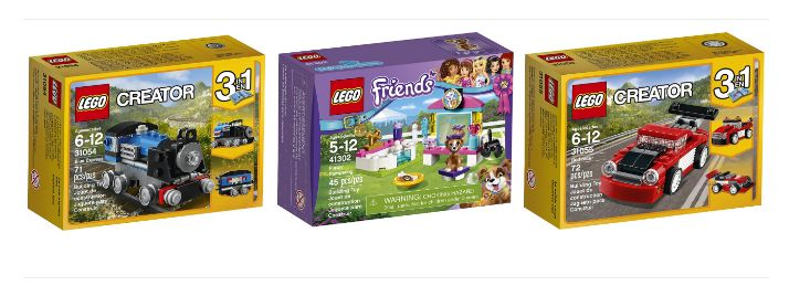 LEGO Sets for Less Than $5