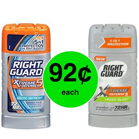 Right Guard Xtreme Antiperspirant Only 92¢ @ Publix! ~ Print Now, Starts Saturday!