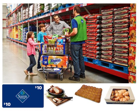 Join Sam's Club TODAY for $45 and Get a $10 Gift Card, Rotisserie Chicken, Dinner Rolls and More! $156 Total Value!