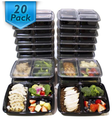 My Favorite Containers for Meal Prepping!