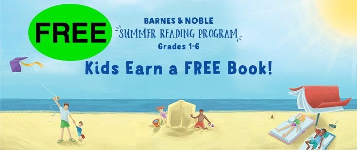 FREE Book from Barnes & Noble Summer Reading Program!