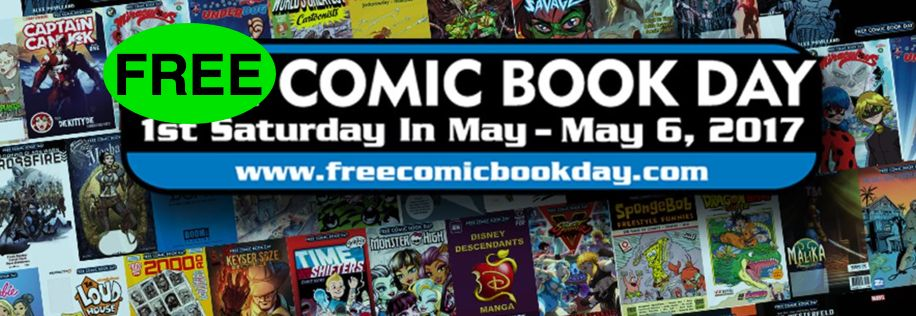 FREE Comic Book on May 6th!