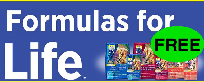 FREE Formula for Life Pet Food!