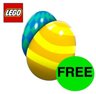 FREE LEGO Easter Egg Hunt with a Prize!