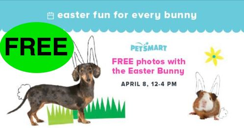 FREE Easter Bunny Photos at PetSmart!