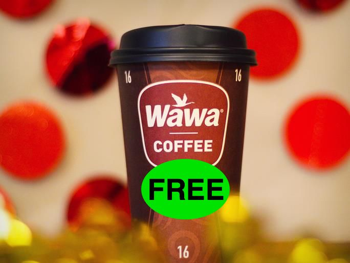 FREE Coffee at Wawa TODAY 4/13!