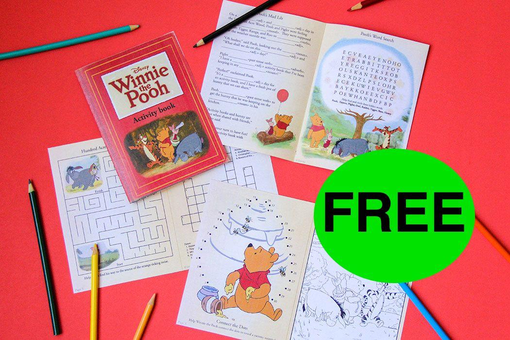 FREE Winnie the Pooh Printable Activity Book!