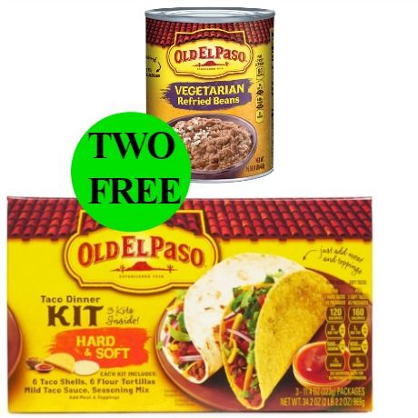 Make It Taco Night with TWO (2!) FREE Old El Paso Products at Walgreens! ~ Starts Sunday!