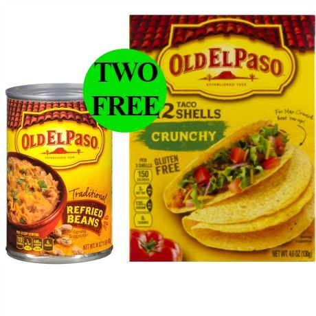 (**Update: FREEbie NLA**) Make It a Terrific Taco Night with TWO (2!) FREE Old El Paso Products at Walgreens! ~ Starts Today!