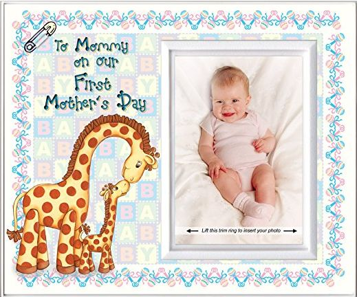 To Mommy on Our First Mother's Day Picture Frame