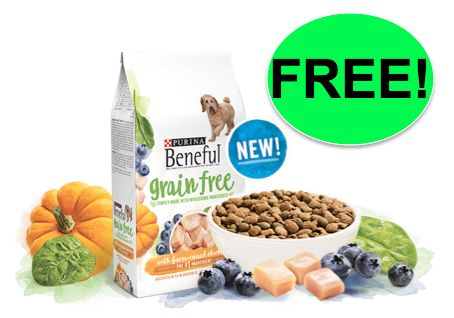 FREE Beneful Grain Free Dog Food!