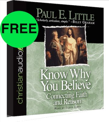 FREE Know Why You Believe Audiobook!