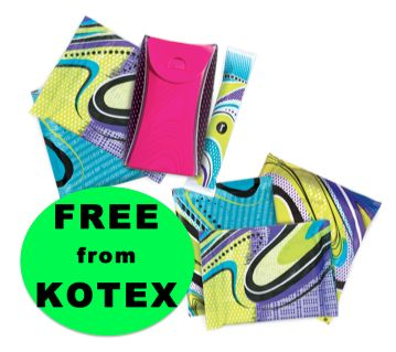 FREE U by Kotex Fitness Products!