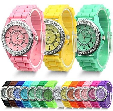 A Different Colored Watch Depending on My Mood!