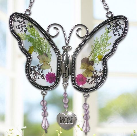 """Mom"" Butterfly Suncatcher UNDER $15"