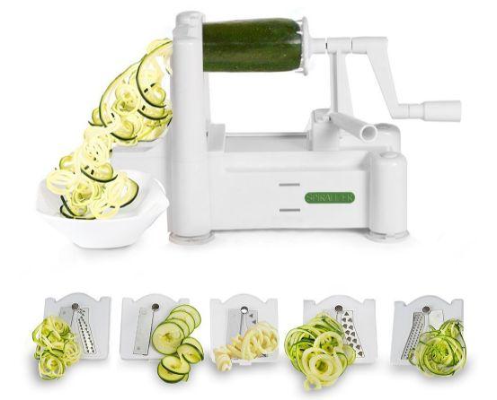 This Spiralizer Makes Eating Your Veggies Fun!