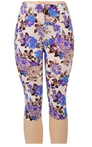 Summer Capri Printed Leggings UNDER $5 SHIPPED