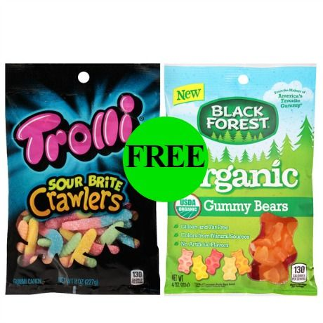 Don't Forget Your FREE Trolli or Black Forest Gummies at Walgreens! ~ Ad Ends Today!