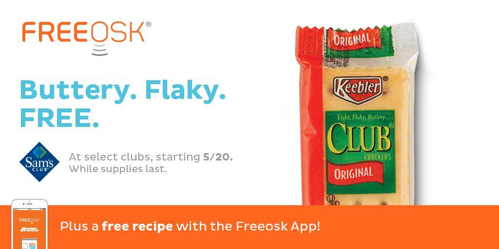 FREE Keebler Club Crackers at Sam's Club!