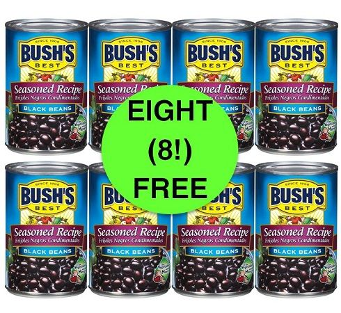 MORE FREE Beans! Pick Up EIGHT (8!) FREE Bush's Variety Beans at Target! ~ Ends Wednesday!