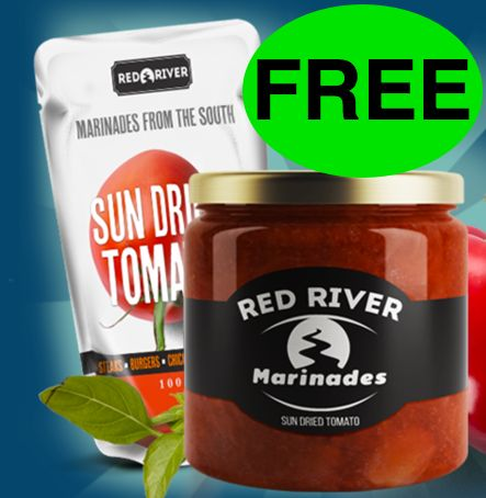 Let's Get Grillin' with Some FREE Red River Marinade!