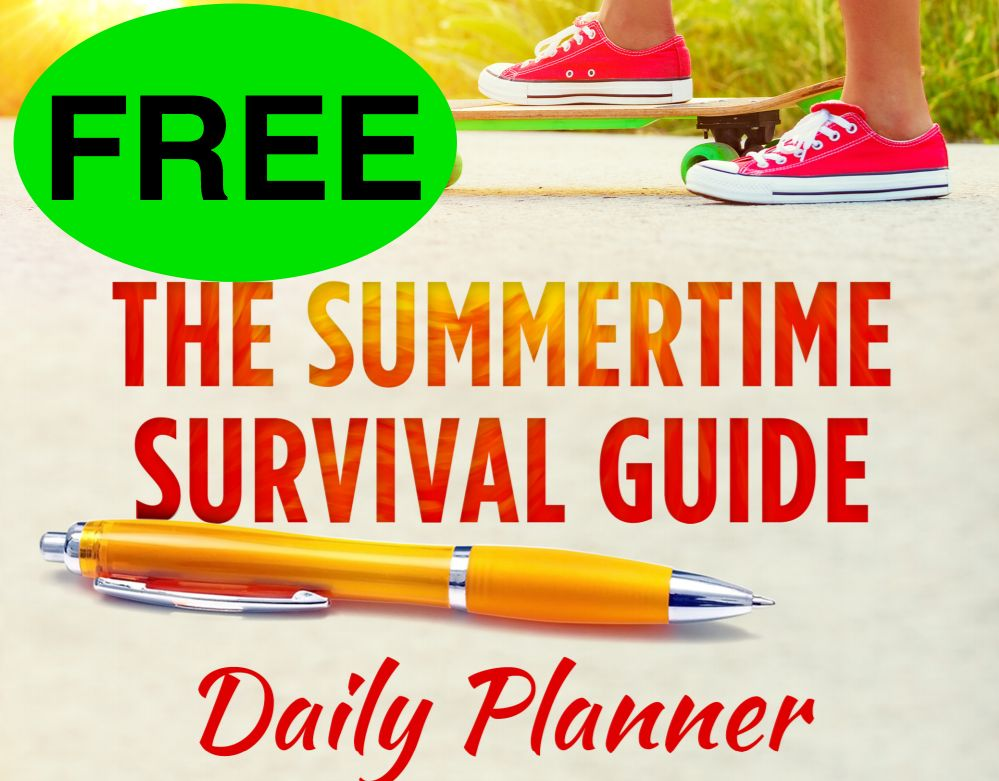 FREE Summertime Survival Guide Daily Planner!