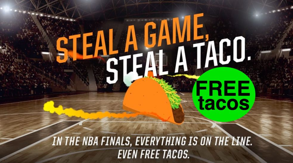 FREE Taco Bell Tacos on June 6th and June 20th!