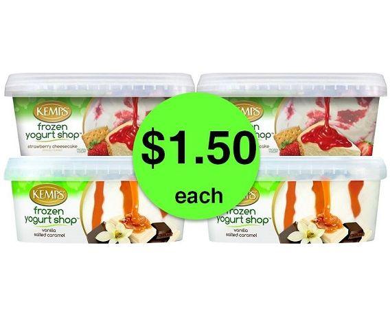 DIG Into Kemps Frozen Yogurt Shop JUST $1.50 Each at Publix! ~ Ends Friday!