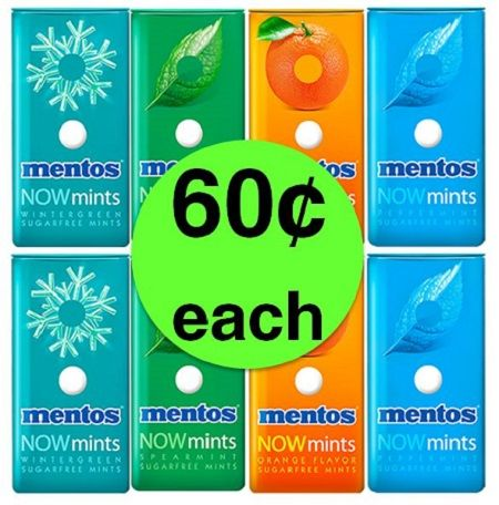 Minty Fresh Deal! Pick Up 60¢ Mentos NOWmints at Publix! ~ Ends Wednesday!