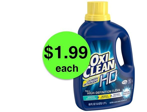 Tame the Laundry Beast with $1.99 OxiClean Detergent at Publix! ~ Ends Friday!